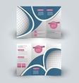 trifold brochure design template