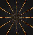 circular orange dots background wallpaper vector image vector image