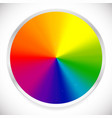 color wheel circular circle color palette with vector image