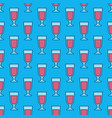 colorful wine glass pattern vector image vector image