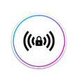 free wi-fi sign wi-fi symbol wireless network vector image