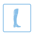 Hessian boots icon vector image vector image
