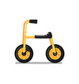 little kids tricycle isolated icon vector image vector image