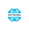network communications icon colored symbol vector image