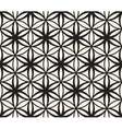Seamless Black and White Flower of Life vector image vector image