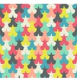 Seamless pattern Colorful abstract stars vector image