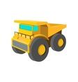 Big truck cartoon icon vector image vector image
