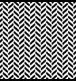 black and white herringbone decorative pattern vector image vector image
