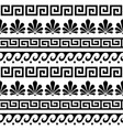 greek ancient seamless pattern set vector image vector image