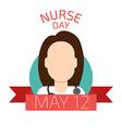 Nurse Day vector image