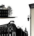 set few buildings - city scape vector image
