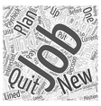 Should You Quit Your Job Before Finding a New One vector image vector image