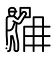 tile stacker icon outline