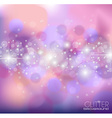 Abstract Glietter background for Greetings card vector image