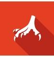 Chicken feet icon vector image vector image