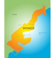 Monako vector image