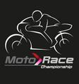 motor racing vector image