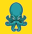 Octopus mascot icon logo