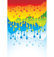 rainbow bright background - vector image