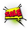 sale discount offer comic book text pop art vector image vector image