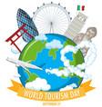 world tourism day symbol