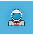Astronaut flat icon vector image