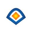 logo out box icon element template design logos vector image vector image