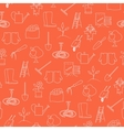 Seamless Pattern Agricultural Tool vector image vector image