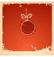 Vintage Christmas Ball vector image vector image