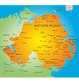 Northen Ireland vector image