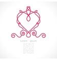 decorative elegant frame vector image