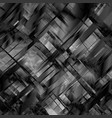 abstract blackandwhite metal glitch vector image vector image