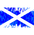 Flag of Scotland vector image