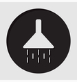 information icon - shower vector image vector image