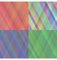 set of abstract backgrouns vector image vector image