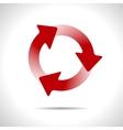 three arrows icon Eps10 vector image vector image
