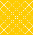 tile yellow pattern with quilted background vector image