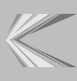 abstract gray arrow speed design modern futuristic vector image vector image