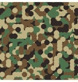 Abstract Seamless Military Camouflage vector image vector image