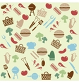 Barbeque pattern vector image vector image