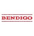 Bendigo Watermark Stamp vector image vector image