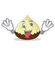 crazy snake fruit mascot cartoon vector image vector image