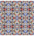 Design colorful seamless mosaic pattern vector image vector image