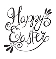 easter wording vector image vector image