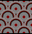 floral mandalas seamless pattern ornamental vector image vector image