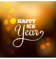 Happy New year abstract background vector image