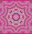 line geometric zen art doodle design mandala vector image vector image