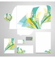 Lively Corporate Identity vector image vector image