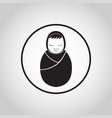 newborn logo icon vector image