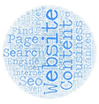 OGSEO seo and your business text background vector image vector image